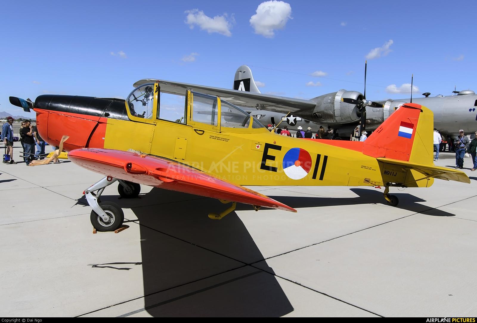 Private N911J aircraft at Yuma