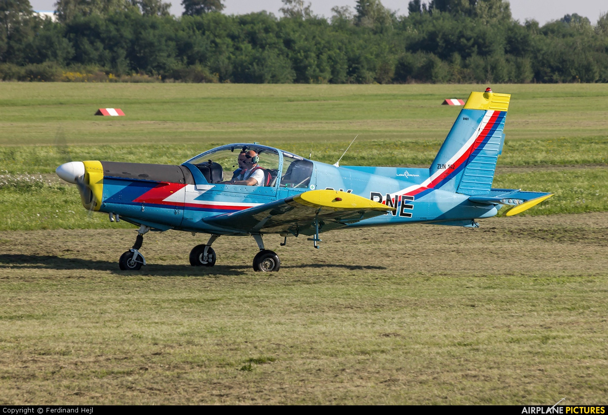 Czech - Air Force OK-PNE aircraft at Prague - Letňany