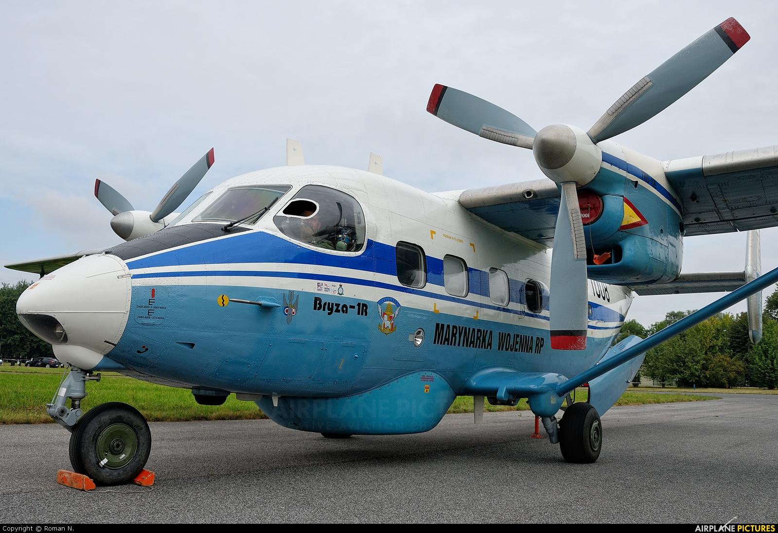 Poland - Navy 1008 aircraft at Radom - Sadków