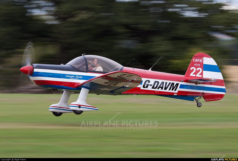 Private G-DAVM aircraft at Lashenden / Headcorn