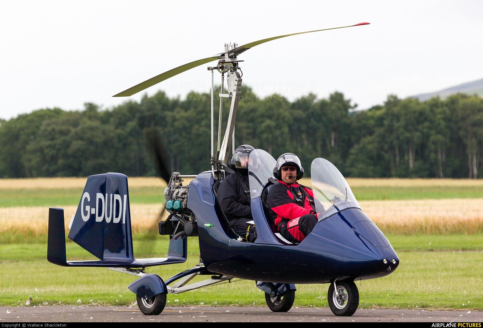 Private G-DUDI aircraft at Perth - Scone