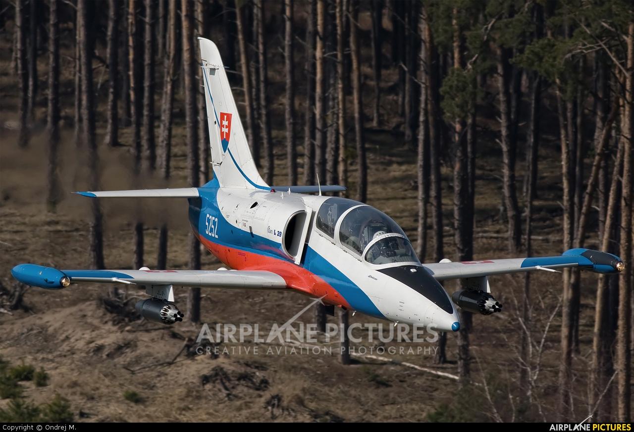 Slovakia -  Air Force 5252 aircraft at In Flight - Slovakia
