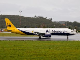 G-OZBI - Monarch Airlines Airbus A321