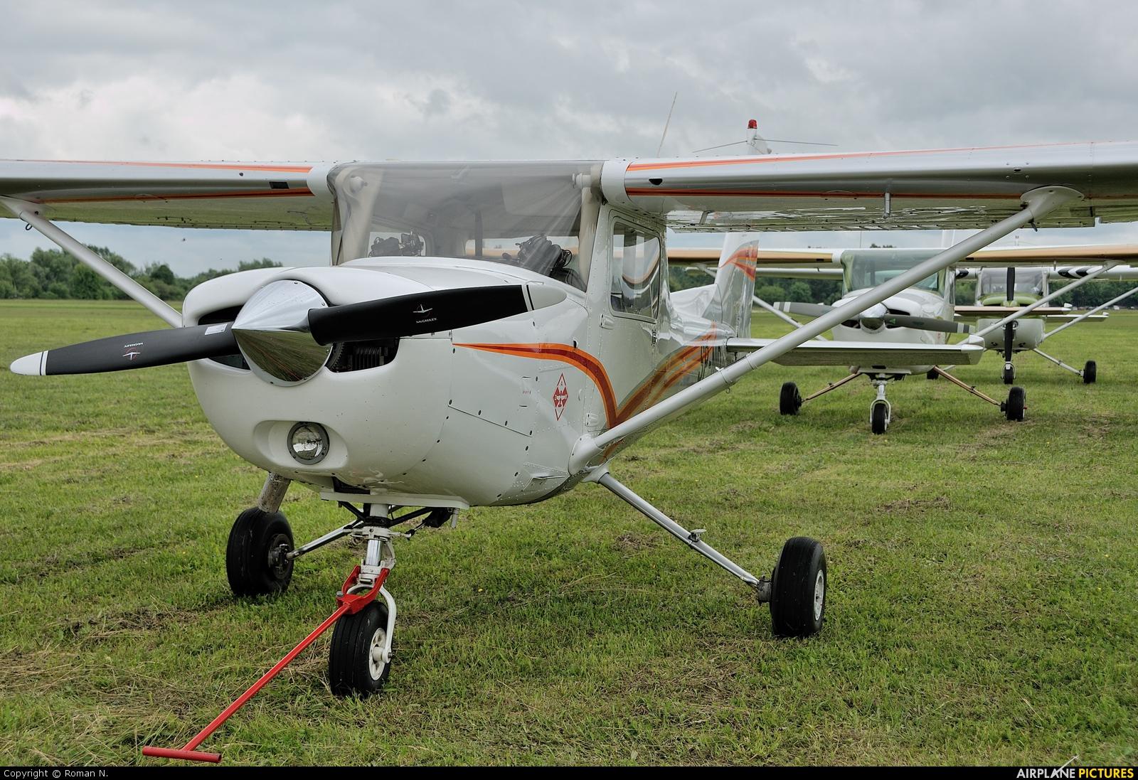 Private SP-NID aircraft at Płock