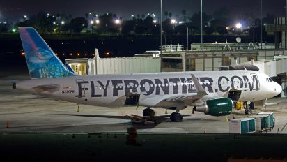 N220FR - Frontier Airlines Airbus A320