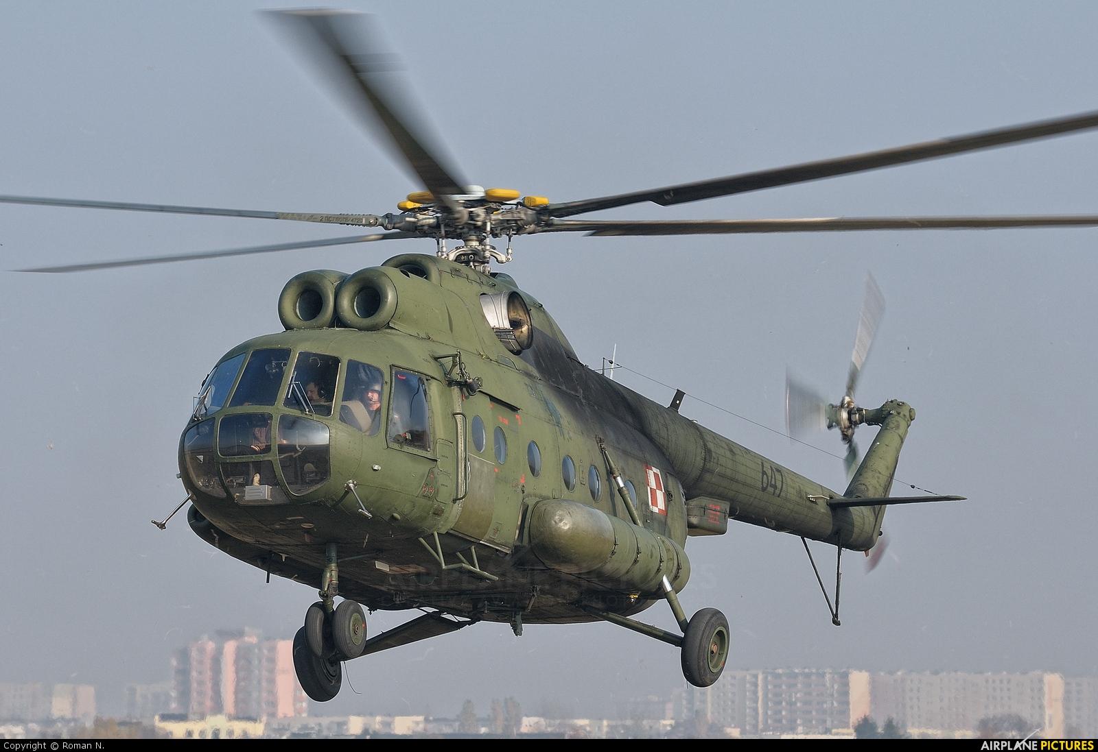 Poland - Army 647 aircraft at Bydgoszcz - Szwederowo