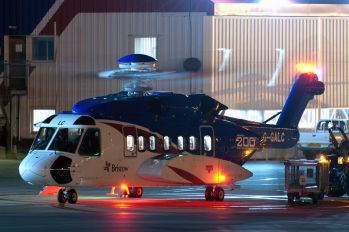 G-GALC - Bristow Helicopters Sikorsky S-92