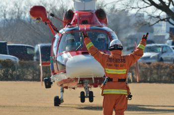 JA31KN - Japan - Fire and Disaster Management Agency Aerospatiale AS365 Dauphin II