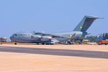 CB-8003 - India - Air Force Boeing C-17A Globemaster III