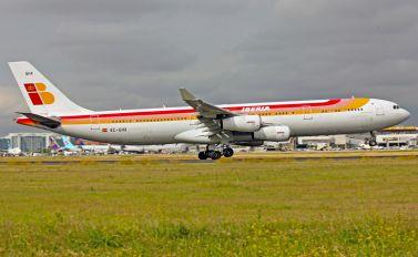 EC-GHX - Iberia Airbus A340-300
