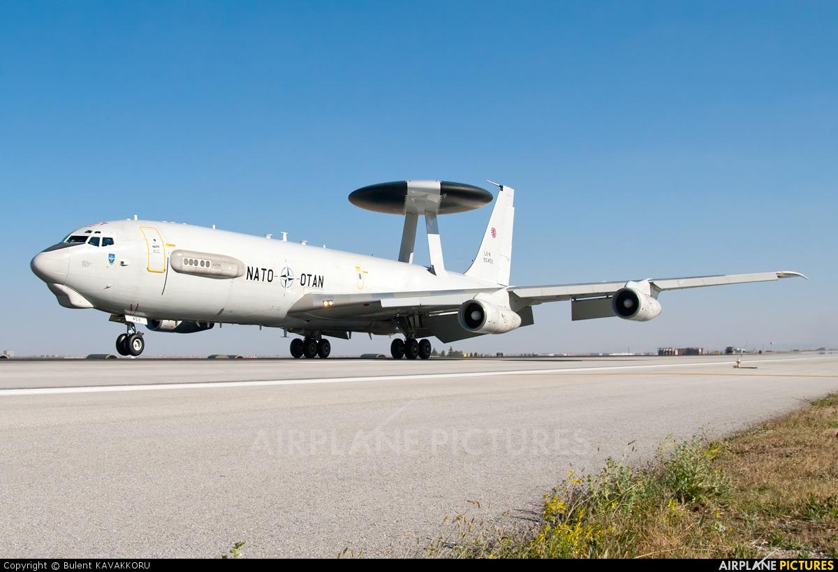 NATO LX-N90452 aircraft at Konya