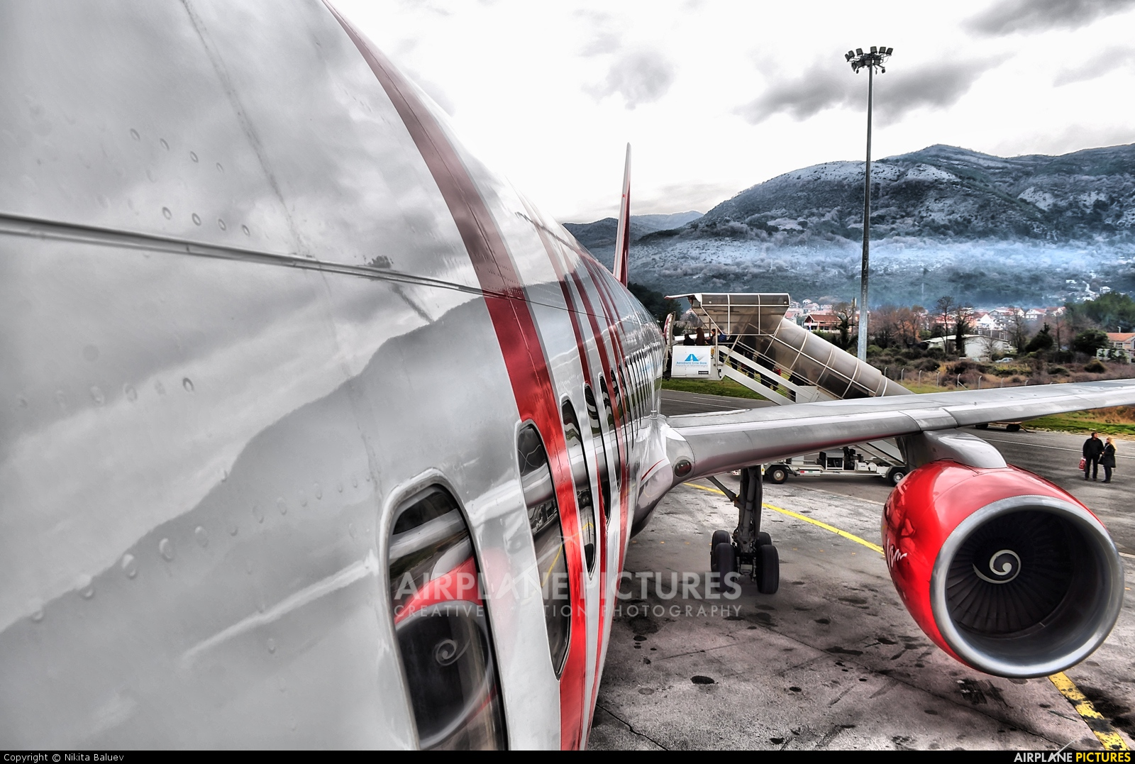 Vim Airlines RA-73009 aircraft at Tivat
