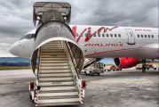 Vim Boeing 757 visits  Tivat title=
