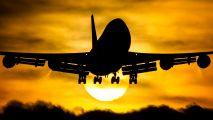 - - KLM Boeing 747-400 aircraft