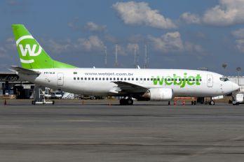PR-WJI - WebJet Linhas Aéreas Boeing 737-300