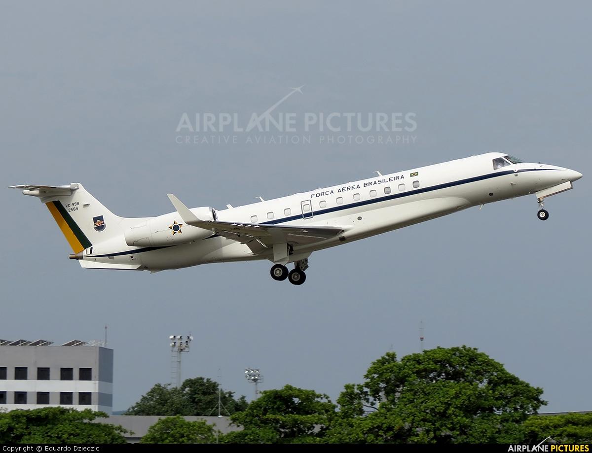 Brazil - Air Force 2584 aircraft at Rio de Janeiro - Santos Dumont