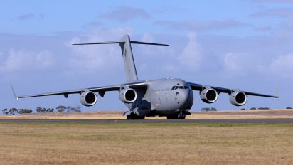 A41-210 - Australia - Air Force Boeing C-17A Globemaster III