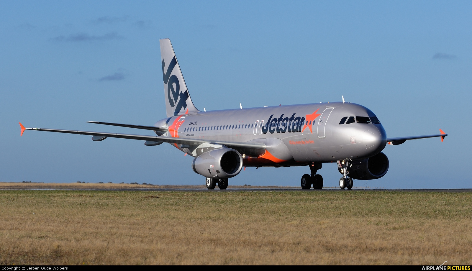 Jetstar Airways VH-VFL aircraft at Avalon, VIC
