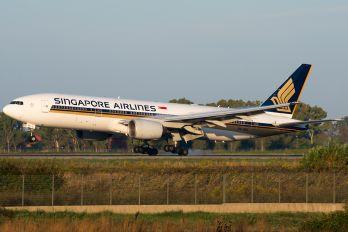 9V-SVL - Singapore Airlines Boeing 777-200ER