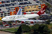 G-VBIG - Virgin Atlantic Boeing 747-400 aircraft