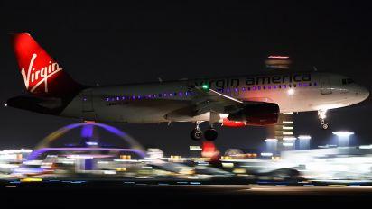 N848VA - Virgin America Airbus A320