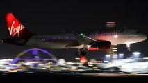 N848VA - Virgin America Airbus A320 aircraft