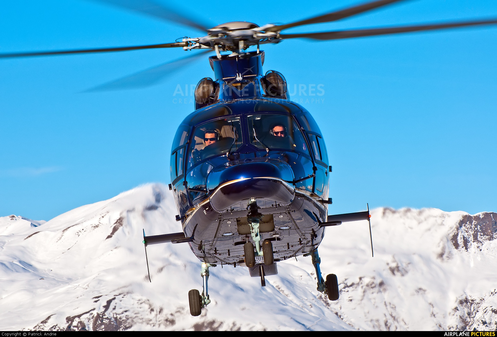 Heli Securite Helicopter Airline F-GVGT aircraft at Courchevel