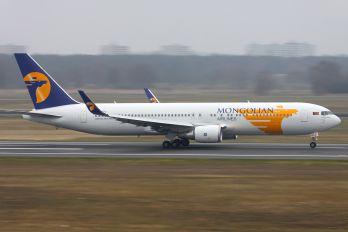 JU-1021 - Mongolian Airlines Boeing 767-300ER