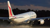 4R-ALG - SriLankan Airlines Airbus A330-200 aircraft
