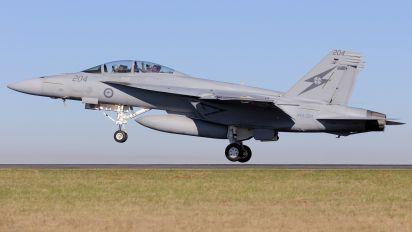 A44-204 - Australia - Air Force McDonnell Douglas F/A-18F Super Hornet
