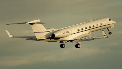 VH-CRQ - Private Gulfstream Aerospace G-V, G-V-SP, G500, G550