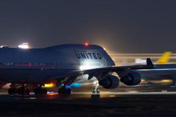 N175UA - United Airlines Boeing 747-400