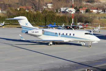 LX-AVT - Luxaviation Bombardier BD-100 Challenger 300 series