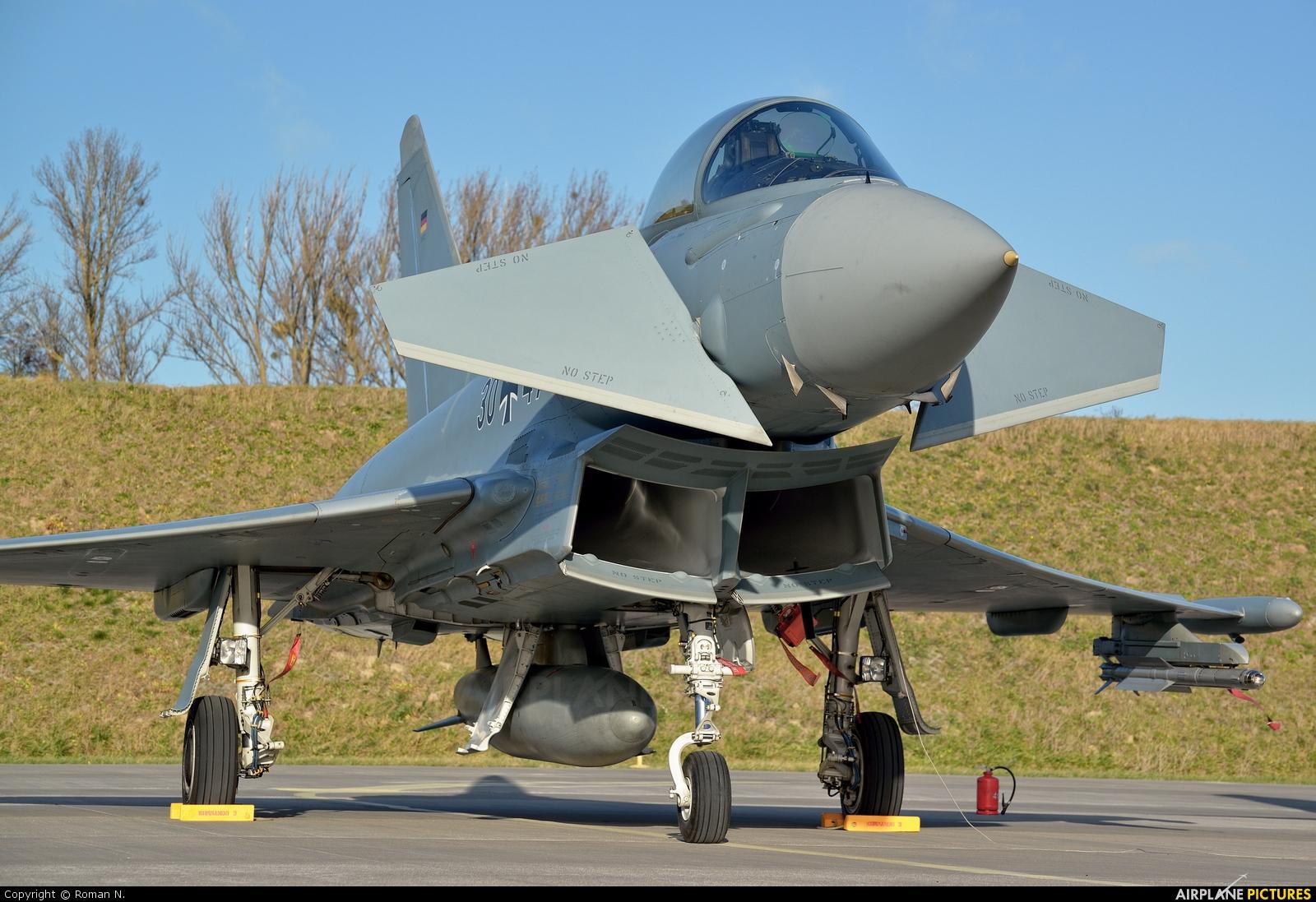 Germany - Air Force 30+47 aircraft at Malbork