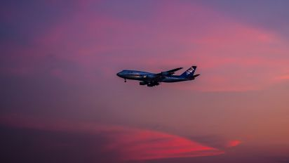 - - ANA - All Nippon Airways Boeing 747-400