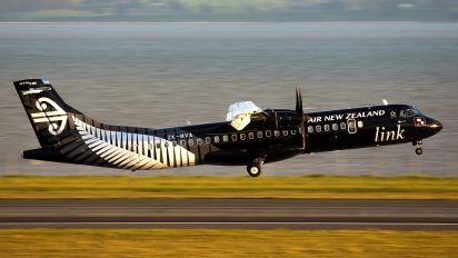 ZK-MVA - Air New Zealand Link - Mount Cook Airline ATR 72 (all models)