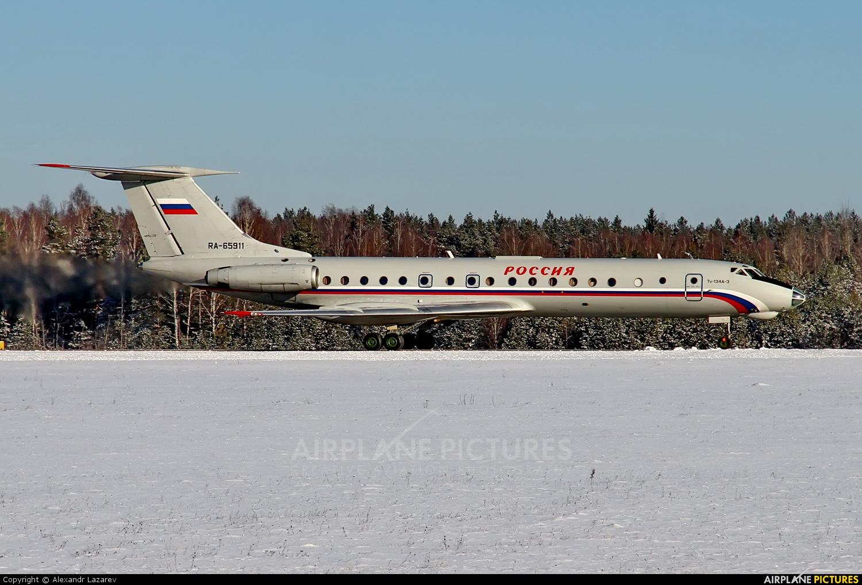Rossiya RA-65911 aircraft at Minsk Intl