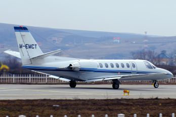 M-EMCT - Private Cessna 560 Citation Ultra