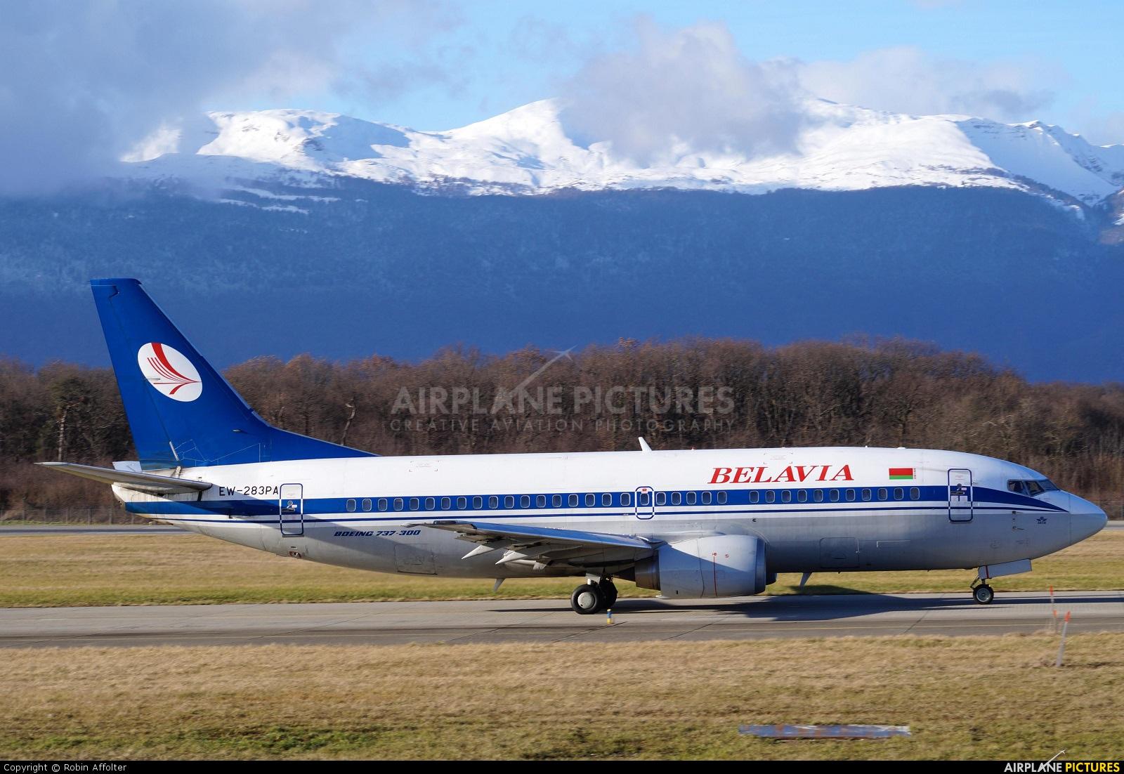 Belavia EW-283PA aircraft at Geneva Intl