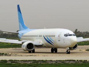 5A-WAC - Buraq Air Boeing 737-400
