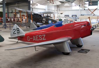 G-AESZ - Private Chilton Aircraft DW1
