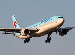 HL7554 - Korean Air Airbus A330-300