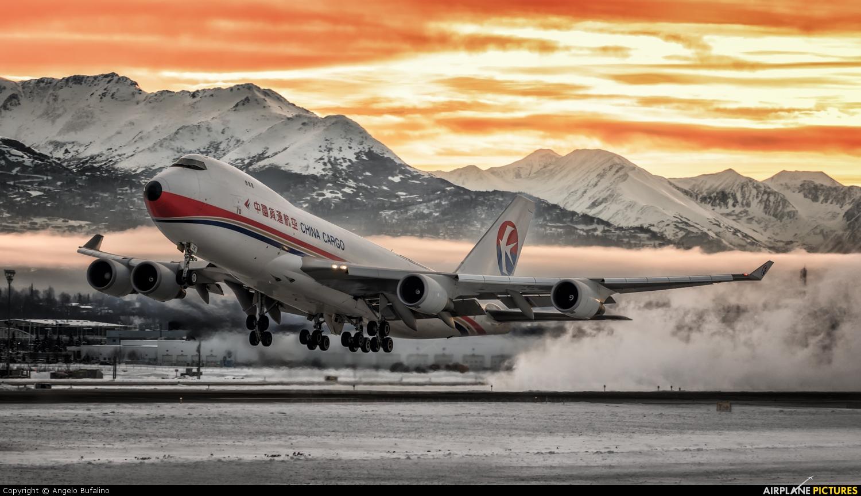 China Cargo B-2426 aircraft at Anchorage - Ted Stevens Intl / Kulis Air National Guard Base