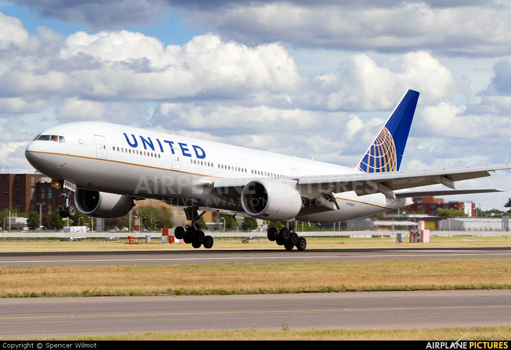 United Airlines N791UA aircraft at London - Heathrow