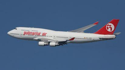 EC-KXN - Pullmantur Air Boeing 747-400