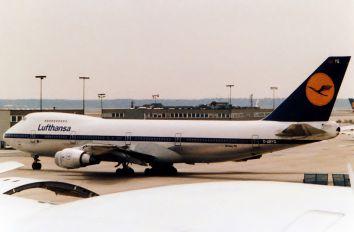 D-ABYQ - Lufthansa Boeing 747-200