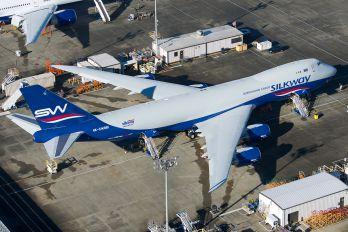 4K-SW881 - Silk Way Airlines Boeing 747-8F