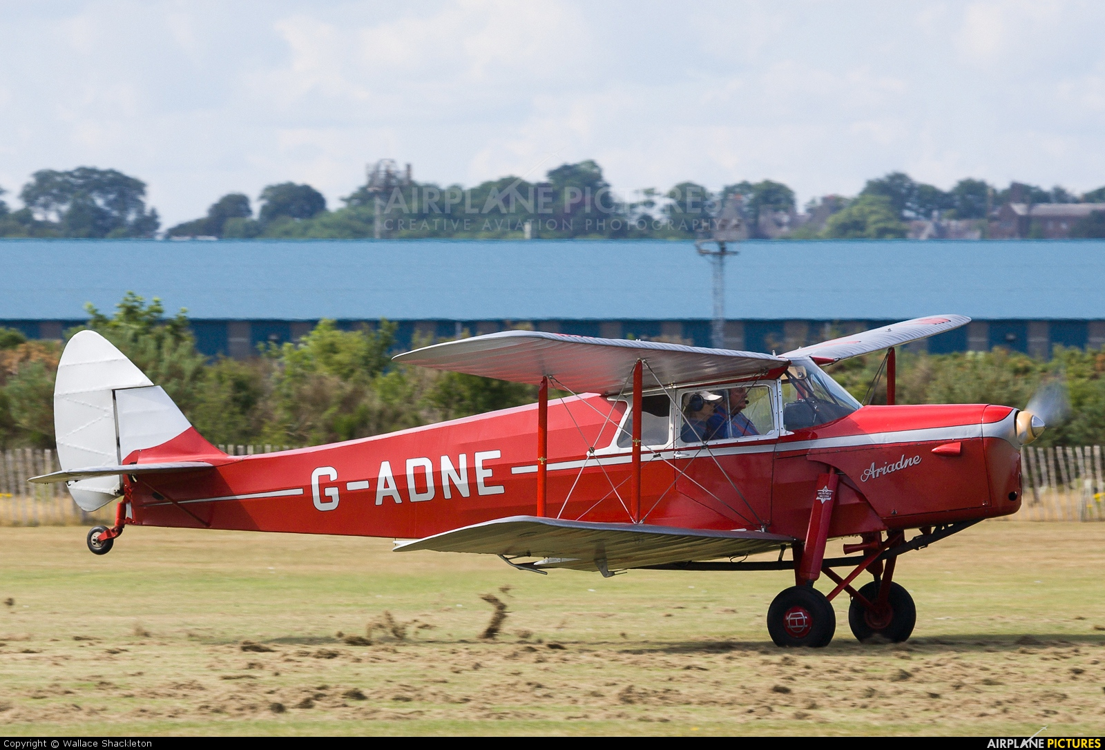 Private G-ADNE aircraft at Montrose