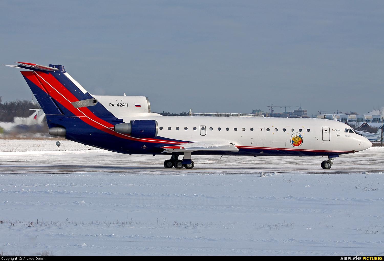 Rusjet Aircompany RA-42411 aircraft at Ramenskoye - Zhukovsky