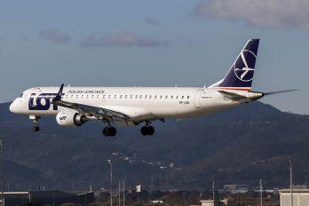 SP-LND - LOT - Polish Airlines Embraer ERJ-195 (190-200)